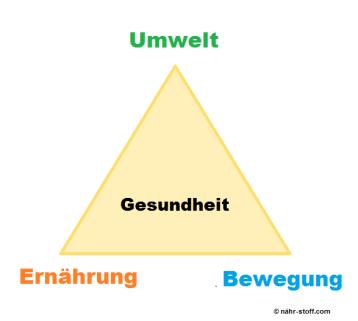 das goldene Dreieck der Gesundheit