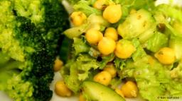 Zitronen- Kichererbsen- Salat
